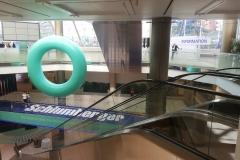Logo pięcio metrowe dla SIS Global Forum Monaco