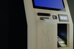 Terminal płatniczy z ekranem dotykowym