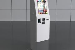 Kiosk do recepcji terminal płatniczy