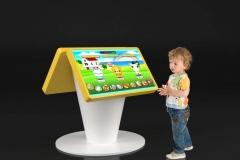 Kiosk multimedialny dla dzieci
