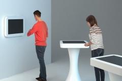 Infopunkt z Ekranem - koncept