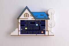 Obudowa monitora- domek z włókna szklanego