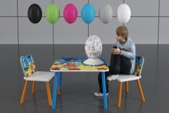 Jajka z włokna szklanego dla dzieci do malowania