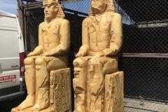 Posągi_Ramzesa 2_imitacja_piaskowca