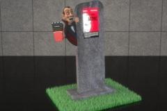 Stand-multimedialny-z-włókna-szklanego