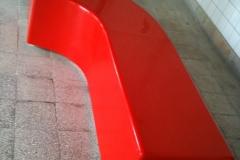 Pufa Bench z włókna szklanego