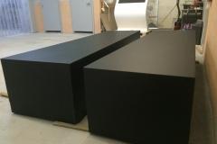 Pufy w czarnej strukturze dla CN Kopernik