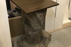 Stolik imitacka kamienia z włókna szklanego