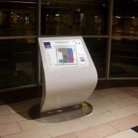Wayfinder informator z mapą z kompozytu plastiku włókna szklanego