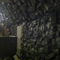 Imitacja skały węglowej