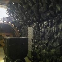 Imitacja skały węglowej z tworzywa włókna szklanego