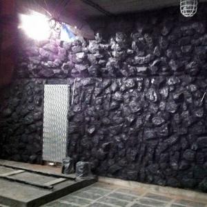 Sztuczna skała węglowa z włókna szklanego