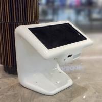 Wayfinder infokiosk z włókna szklanego z drukarką i skanerem i ekranem dotykowym