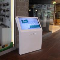 Infokiosk stand interaktywny z drukarką z ekranem dotykowym- CH-sfera