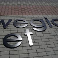 Litery na budynek reklamowe logo lakierowane
