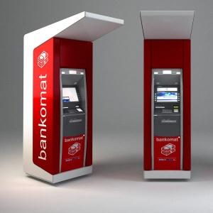 Obudowy do bankomatów z kompozytu zaprojektowana z włókna szklanego