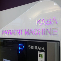 Obudowa bankomatu z kompozytu Mokotów