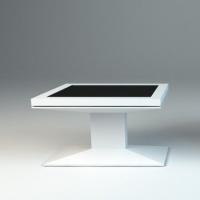 Projekt-Stół z ekranem dotykowym - z włókna szklanego