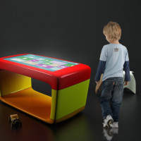 Stokil dotykowy multimedialny dla dzieci