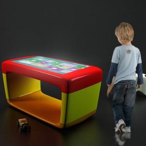 Stokil dotykowy multimedialny dla dzieci-obudowa wykonana z włókna szklanego