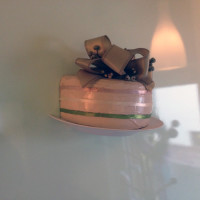 Sztuczna dekoracja tort