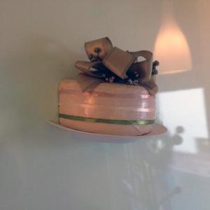 Sztuczna dekoracja tort z włókna szklanego