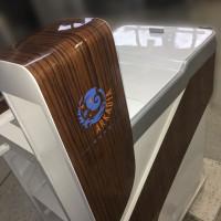 Elektryczny wózek dla sprzątaczek do galerii Arkadia