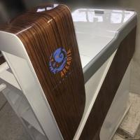 Elektryczny wózek dla sprzątaczek wykonany z włókna szklanego dla Galerii Arkadia