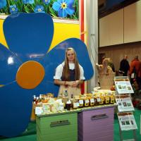 Opolanie na targach Grüne Woche w Berlinre z naszymi produktami z włókna szklanego