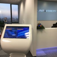 Infokiosk biuro PKP Intercity