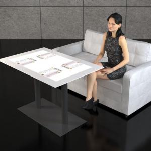 Interaktywny stół dotykowy dla restauracji