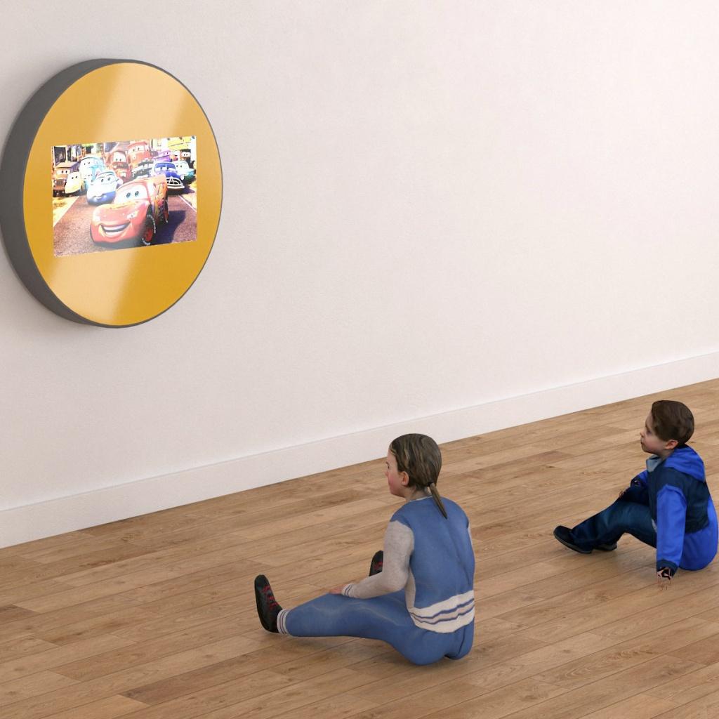 Wisząca obudowa na telewizor