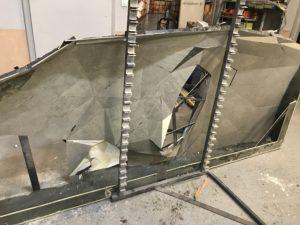 Forma z włókna szklanego do laminowania