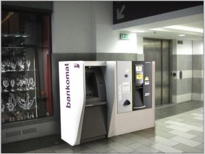 Projekt wizualizcji obudowy do bankomatu